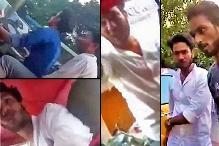 Caught on video Group of men stalk 2 women on busy Hyderabad road abuse them when confronted