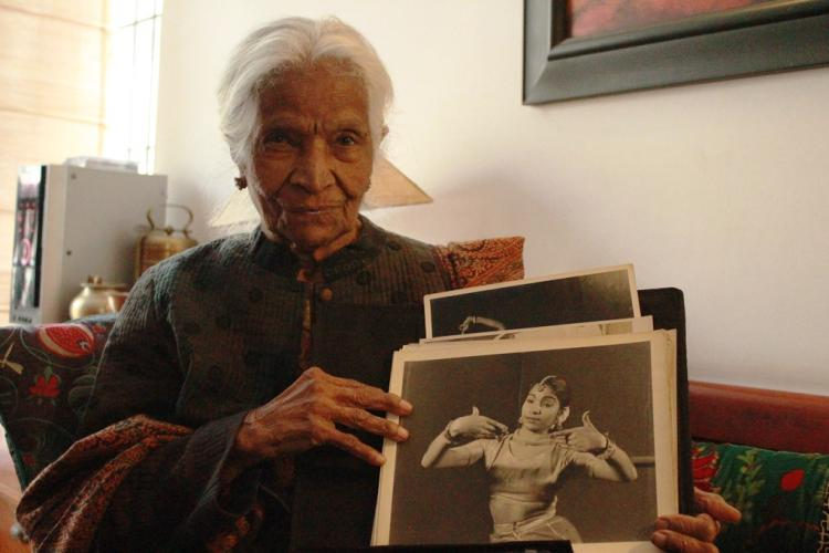 Dance is a way of life 92-year-old woman who broke the internet with Bharatanatyam performance