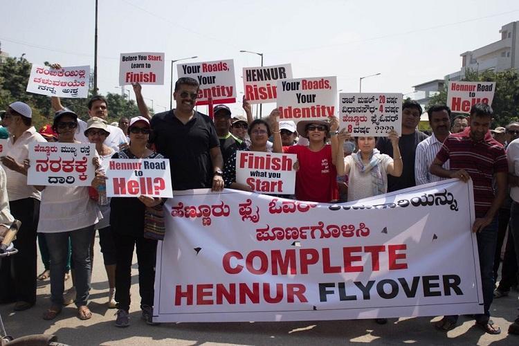Taj Mahal-20 yrs Vidhana Soudha-4 yrs Bluru protests 8-yr delay of Hennur flyover