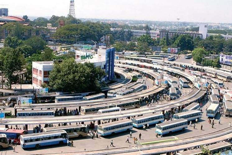 Bangalore and Karnataka bus workers go on strike