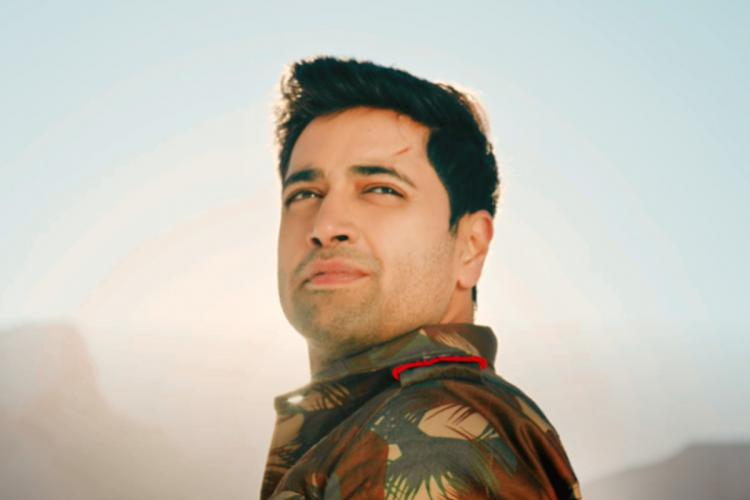 Adivi Sesh is seen as a soldier in the image from teaser of Major