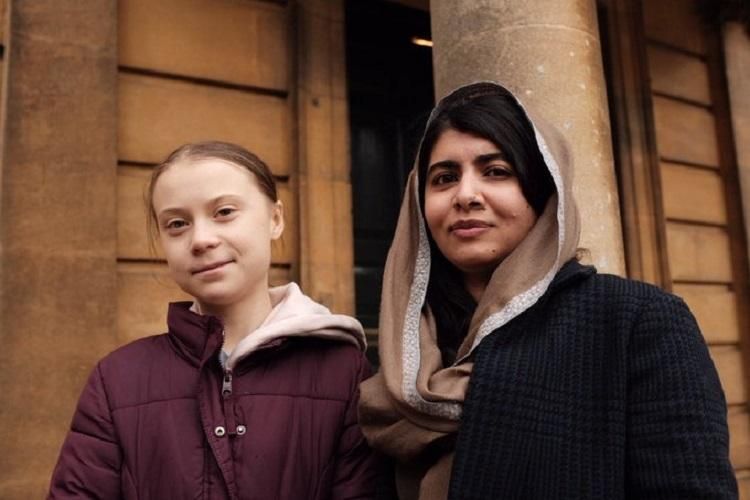 Only friend Id skip school for Malala meets Greta Thunberg