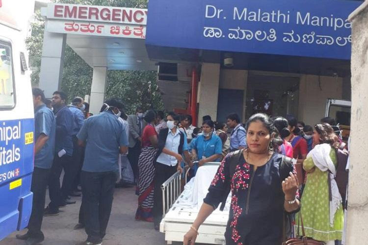 40 patients evacuated after minor fire breaks out in Bengaluru hospital