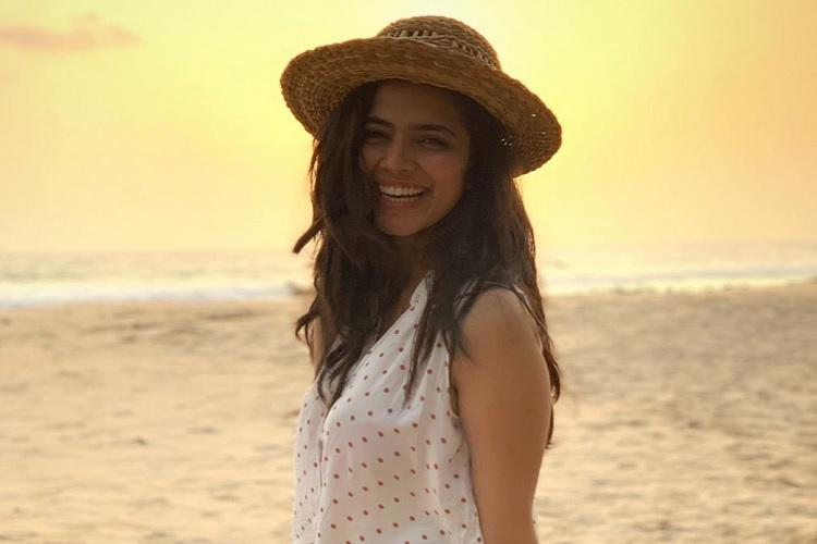 Actor Malavika Mohanan gives it back to those trolling her pic wearing tank top shorts