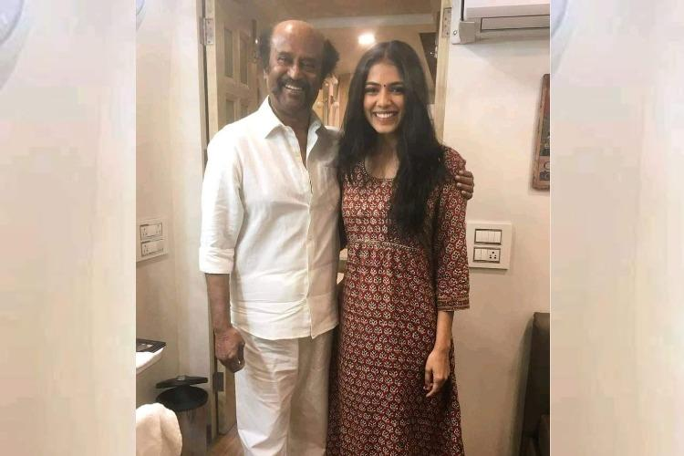 Malavika Mohanan excited to work with Rajinikanth in Petta