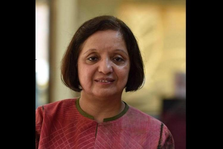 Malini Parthasarathy who has been appointed Chairperson of the Board of Directors of The Hindu Group Publishing Private Limited after N Ram