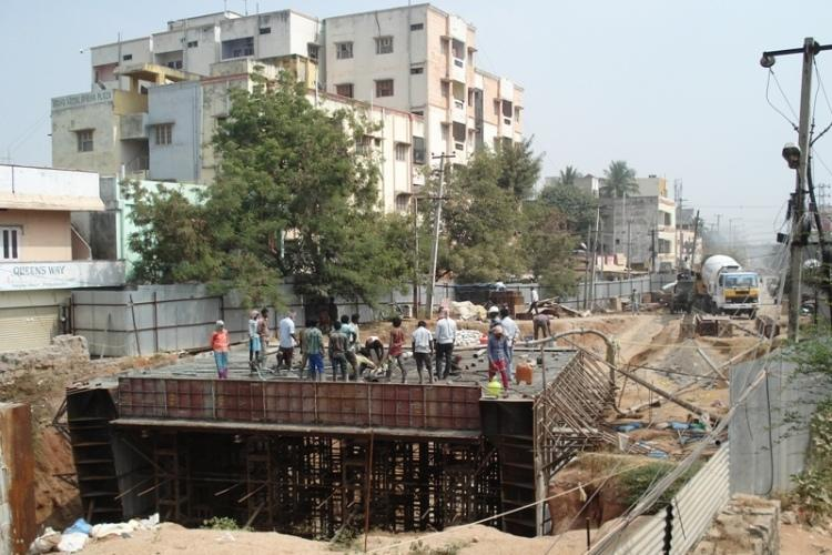Hyderabads Malkajgiri area residents suffer as construction projects move at snails pace
