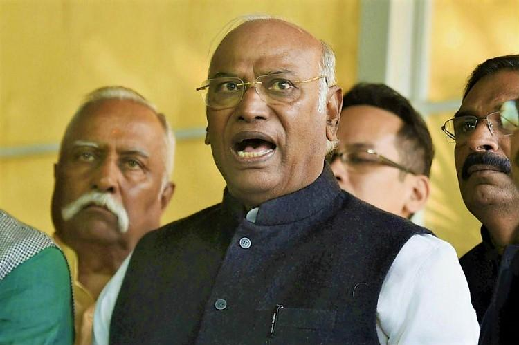 There are no questions of ifs and buts, expecting a majority: Mallikarjun Kharge