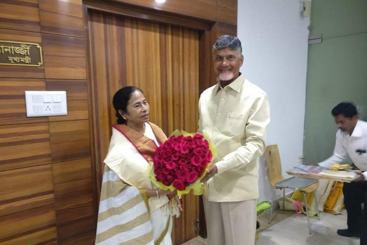 Opposition meet before next Parliament session to plan next move Naidu visits Mamata