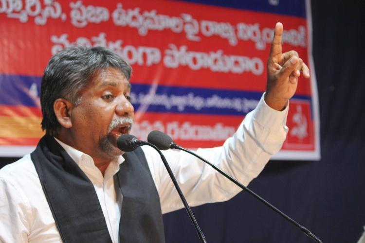 Telangana polls Dalit leader Manda Krishna Madiga offers support to Mahakutami