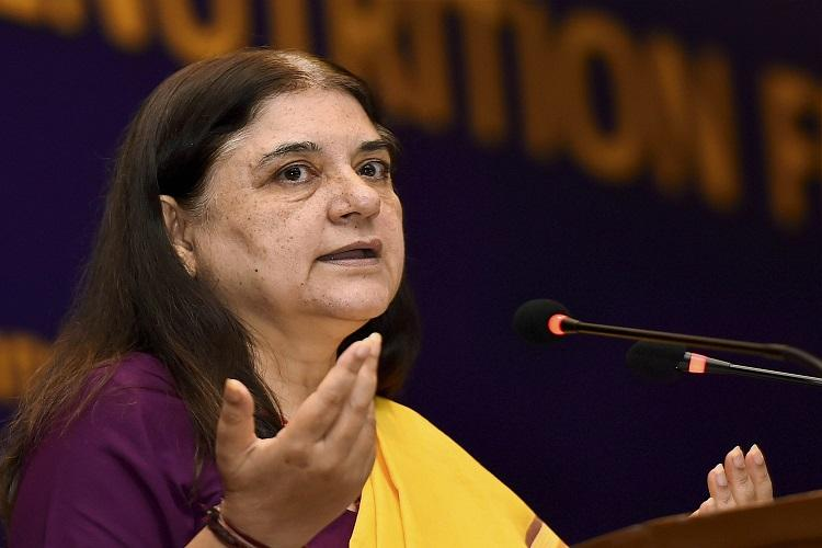 Maneka wants special cells to deal with sexual offences