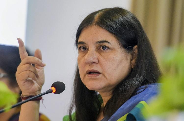 Maneka sniggers while calling trans people other ones in Parliament MPs laugh