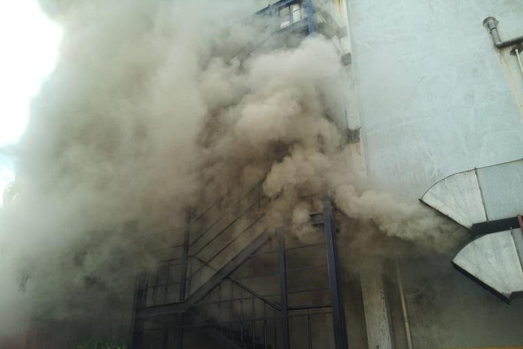 Fire breaks out in City Centre Mall in Mangaluru