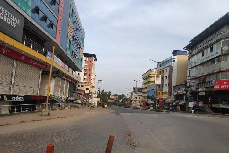 Mangaluru under curfew All shops shut only hospitals in the city are open
