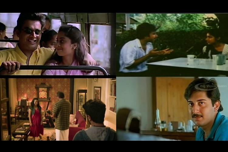 Love in small moments Rewind with these romance scenes from vintage Mani Ratnam