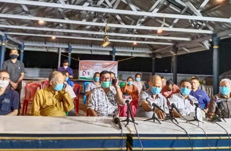 Nine members of BJP led coalition in Manipur resign