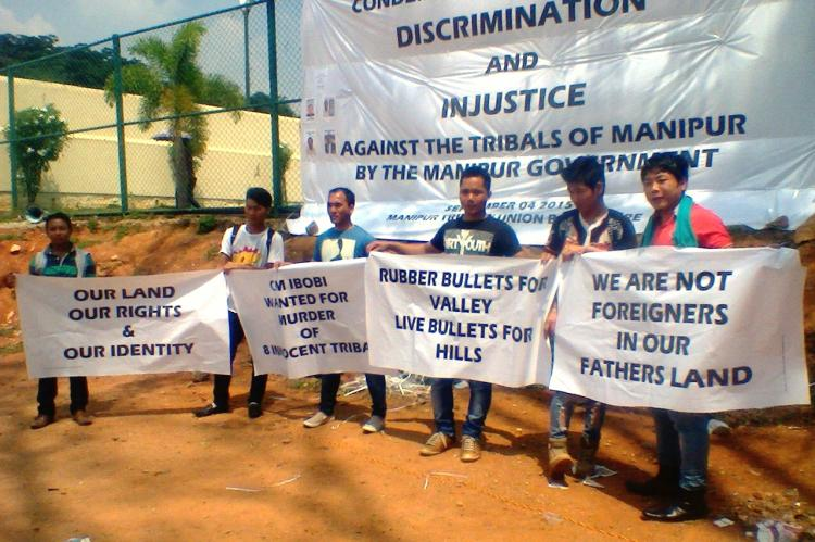 Tribals of Manipur fear land grab and protests have reached as far as Bengaluru