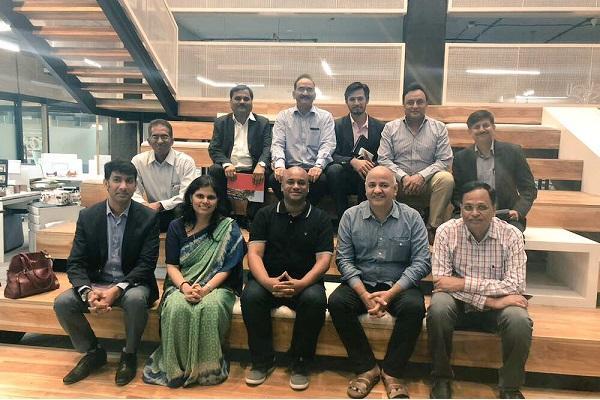 Delhi Deputy CM visits Hyderabads T-Hub to study startup ecosystem