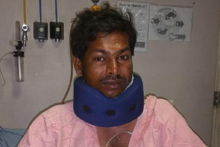 Kite manja cuts mans throat in Hyderabad condition stable after 20 stitches