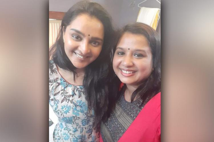 Manju Warrier s selfie with her Kerala friend Sincy Anil