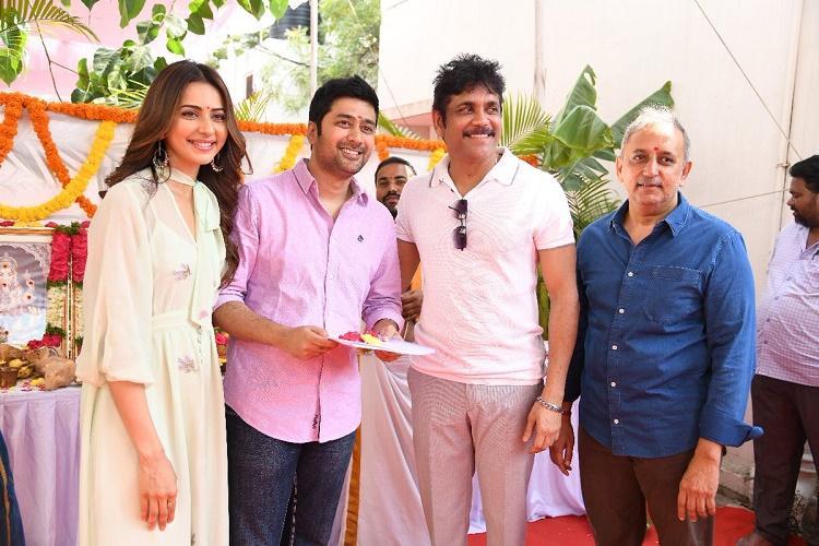 Manmadhudu 2 sequel to Nagarjunas Manmadhudu goes on to floors