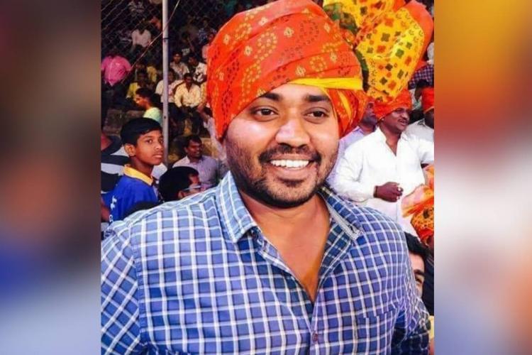 Telugu journalist Manoj Kumar who succumbed to the coronavirus