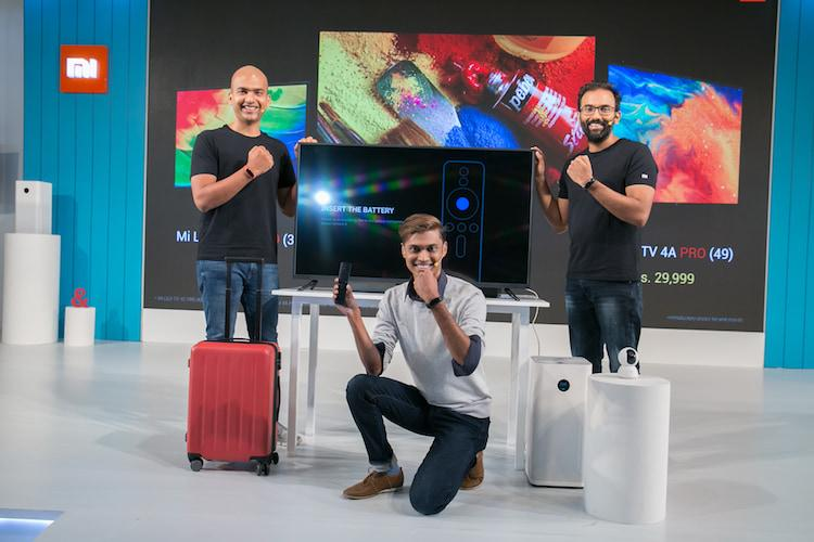 From Mi TVs to Mi Band 3 Xiaomi launches new range of products in India