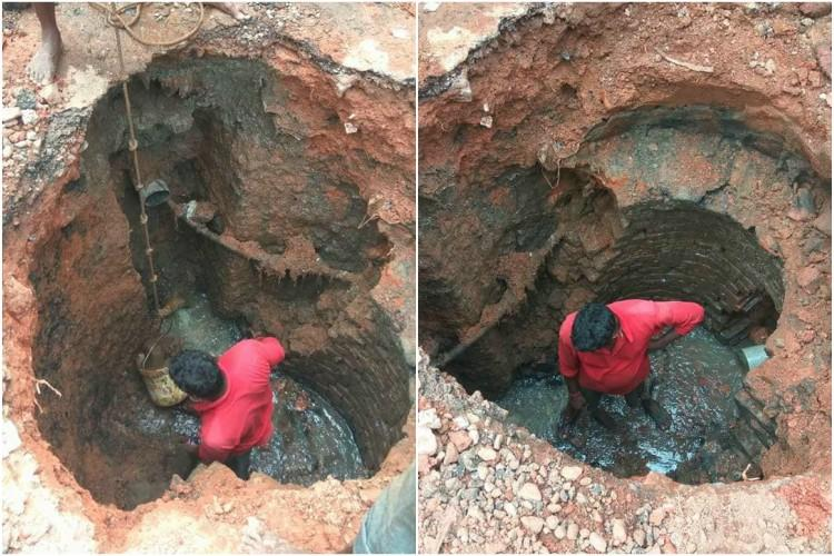 Images expose manual scavenging in Mangaluru city mayor denies it happened