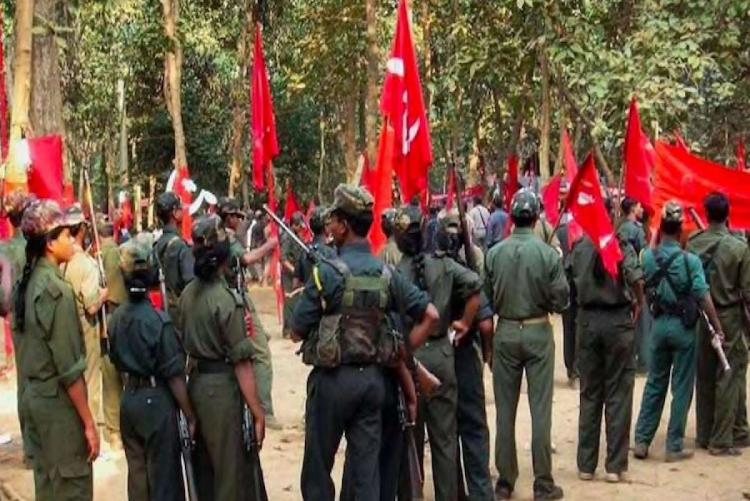 A total of 33 militia members of the banned CPI Maoist on Monday surrendered