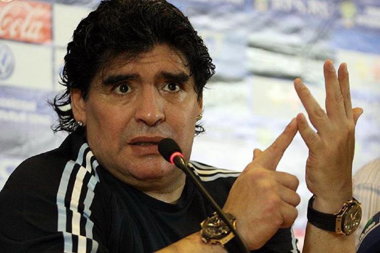 File photo of Maradona