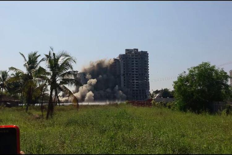 Maradu apartment demolition Jain Coral Cove largest of Kochis illegal buildings razed