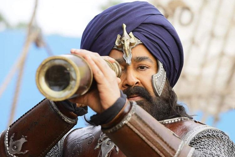 Mohanlals look in Marakkar Arabikadalinte Simham revealed