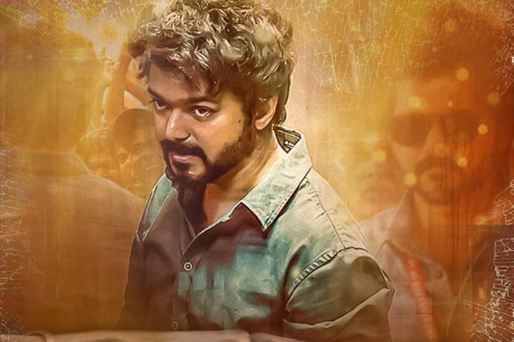 Poster of Vijay's Master