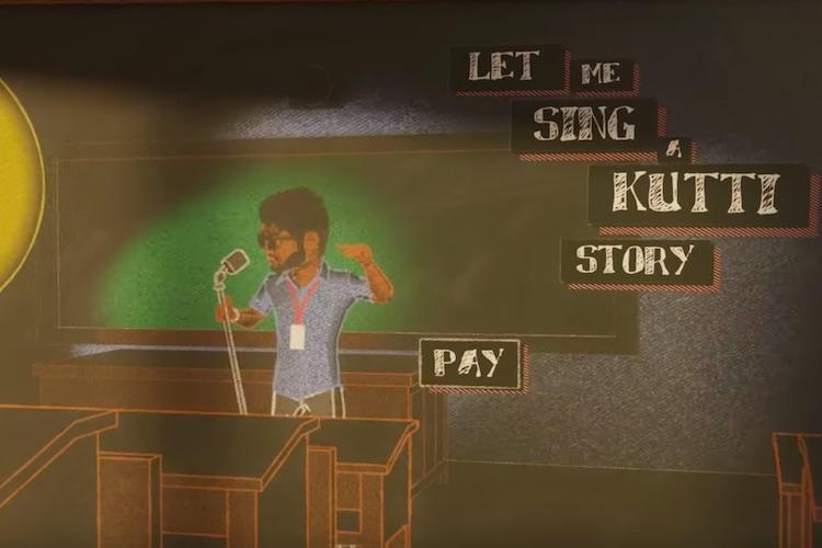 Watch Vijays Oru Kutti Kathai from Master is heavy on the messaging