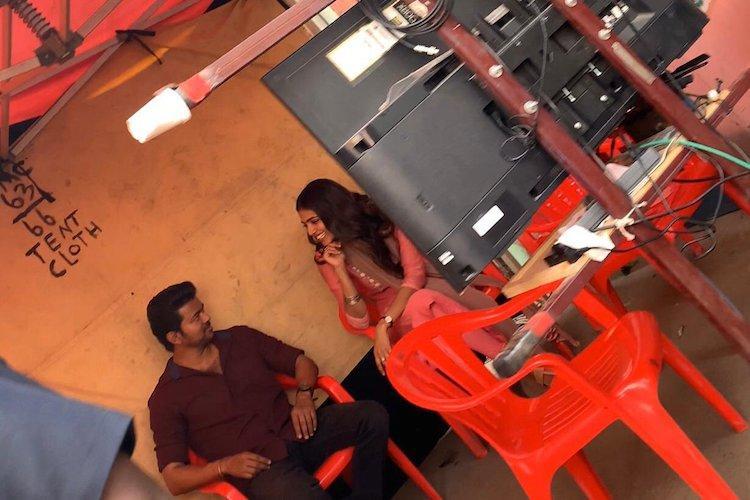 Malavika Mohanan starts shooting for Vijays Master
