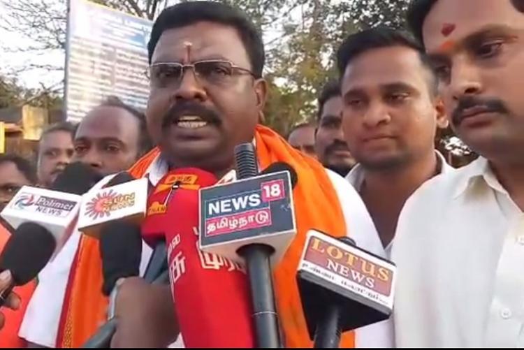 BJP workers protest shooting of Vijays Master in Neyveli mining area