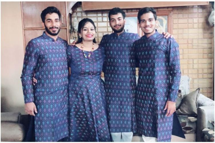 Matching-matching Colour-coordinated outfits growing in popularity in Hyderabad