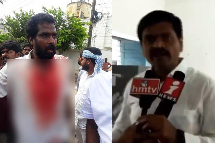 AP polls Jana Sena candidate smashes EVM YSRCP TDP members attack each other