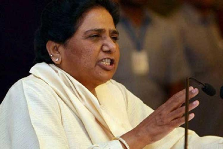Mayawati casts vote in Lucknow claims victory