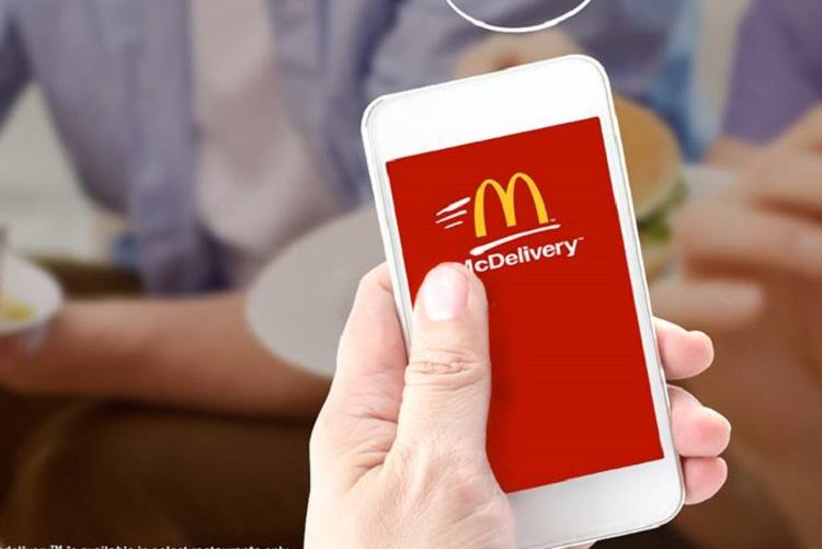 Using McDonalds app to place orders Your personal details may be compromised