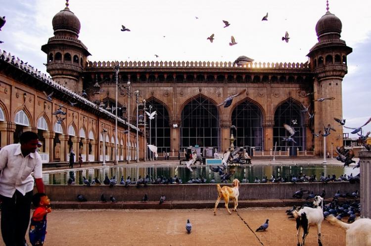 Finally conservation work begins at Hyderabads Mecca Masjid