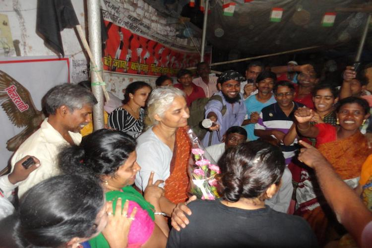 Not about one family Medha Patkar urges people to fight against Sarfaesi Act