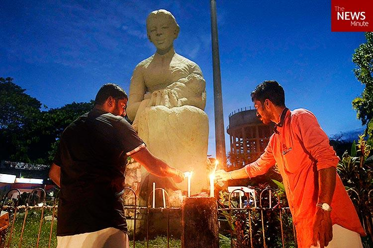 The making of a god How a statue outside a Kerala hospital turned into a deity over time