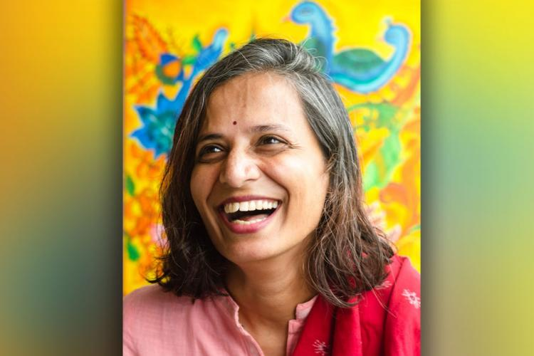 Meera Rajagopalan the author of The Eminently Forgettable Life of Mrs Pankajam