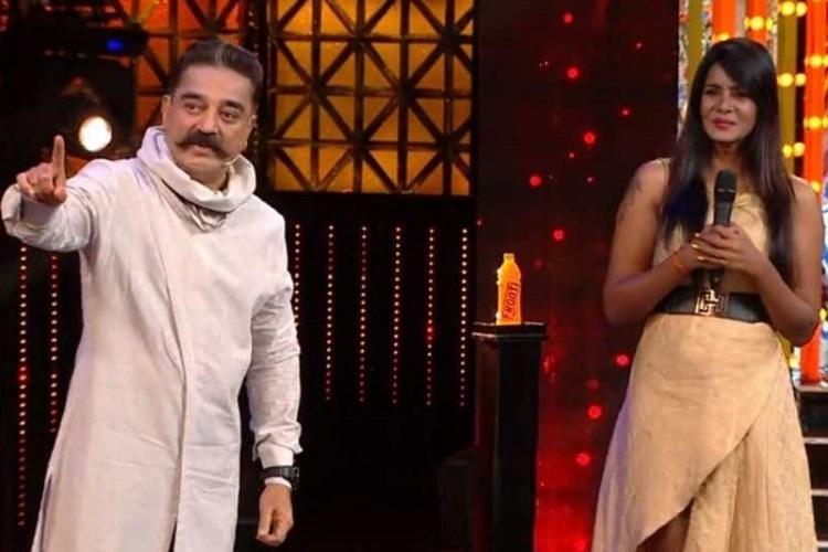 Bigg Boss Meera Mithun accuses Kamal of nepotism Agni Siragugal director denies it