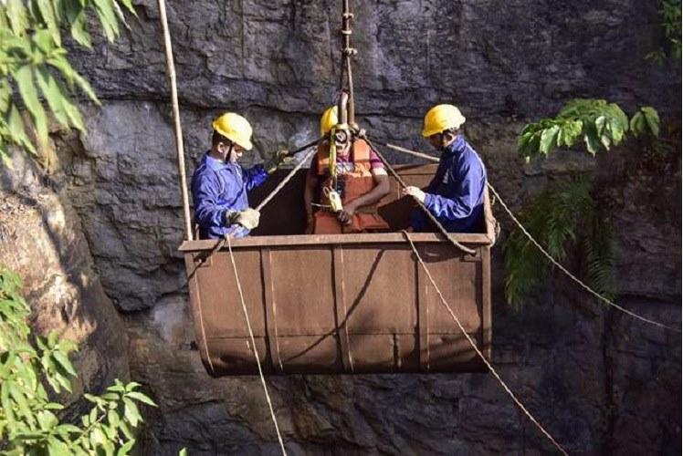 Efforts on to rescue trapped miners in Meghalaya 15 Navy personnel from AP involved