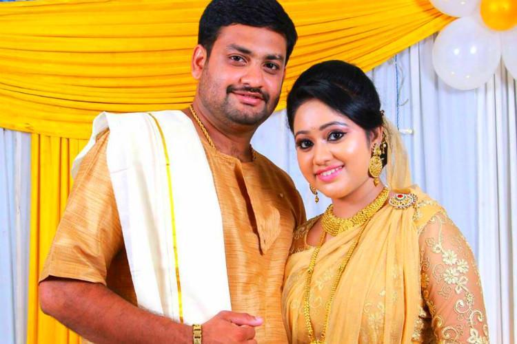 Malayalam TV actor Meghnas wedding teaser misses goal trolls have a ball