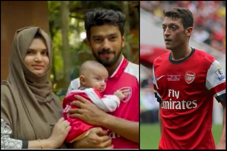 Watch Baby Ozil from Kerala has caught Arsenals eye all the way in London
