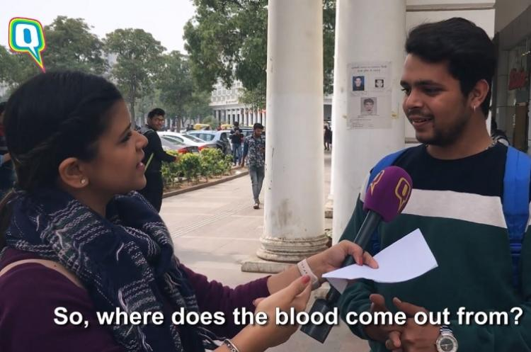 Its not blood but moksha Hilarious answers by men who were asked about periods