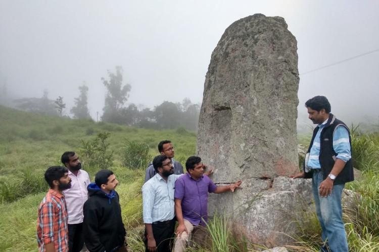 20-foot menhir found in Idukki may reveal prehistoric human activity
